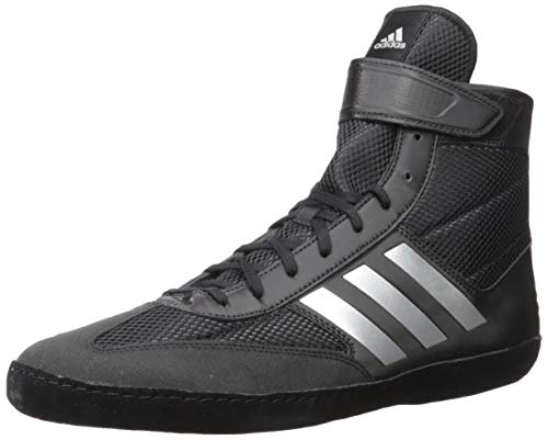 adidas Men's Combat Speed.5, Black/Silver Metallic/Black, 7 M US