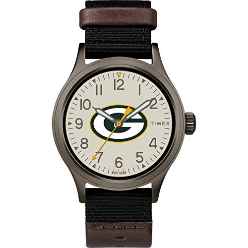 Timex Men's TWZFPACMB NFL Clutch Green Bay Packers Watch