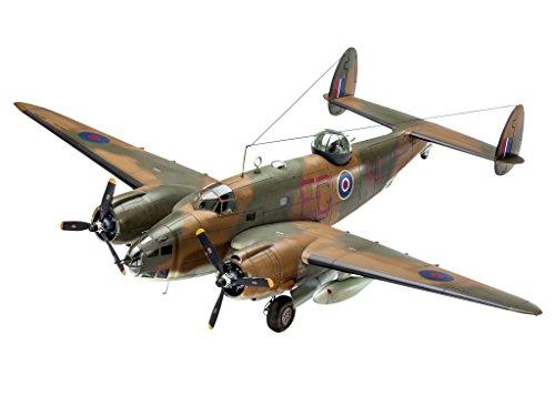 Revell Modellbausatz Flugzeug 1:48 - Lockheed Ventura Mk.II im Maßstab 1:48, Level 4, originalgetreue Nachbildung mit vielen Details, 04946