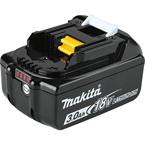 Makita BL1830B 18V LXT Lithium-Ion 3.0Ah Battery, 1-Pack, Black