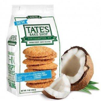 Tate's Bake Shop 6 Pack Gluten Free Coconut Crisp Cookies