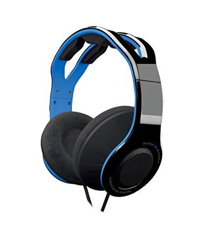 Gioteck - Auricular Estereo con cable azul y negro TX-30 Multiplataforma (Nintendo Switch)