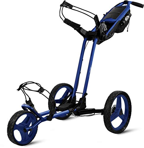 Sun Mountain Pathfinder 3 Golf Push Cart Sky Blue