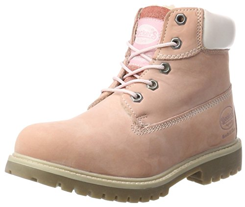 Dockers by Gerli Unisex-Kinder 35FN701-300760 Combat Boots, Pink (Rosa), 34 EU