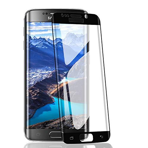 RIIMUHIR-2 Pack Vetro temperato per Samsung Galaxy S7 Edge, durezza 9H, Senza Bolle, Anti-Impronta Digitale, Anti-Olio, Ultra-chiarezza, Trasparente