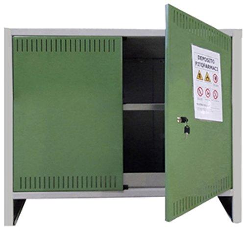Armadio per fitofarmaci pesticidi omologato 2A cm 100x40x80 h
