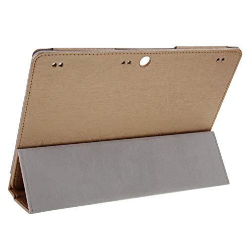 Liluyao Fundas para teléfono móvil Funda de Cuero con Tapa magnética y Textura de Alambre de Acero con Soporte Plegable for Lenovo Tab 2 A10-70 / A7600 (Negro) Estuches para teléfonos celulares