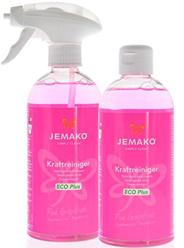 Jemako Kraftreiniger Pink Grapefruit (2 Flaschen á 500 ml) inkl. Schaumpumpe