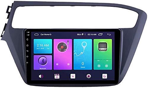Laytte Navegación GPS De Coche 10 Pulgadas para I20 2018 Android Pantalla Vertical MP5 Multimedia Player Video Receptor con 4G WiFi,4core 4g WiFi:1+32gb