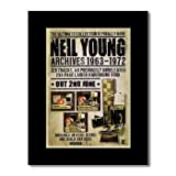 Music Ad World Mini-Poster, Motiv NEIL YOUNG - Archives