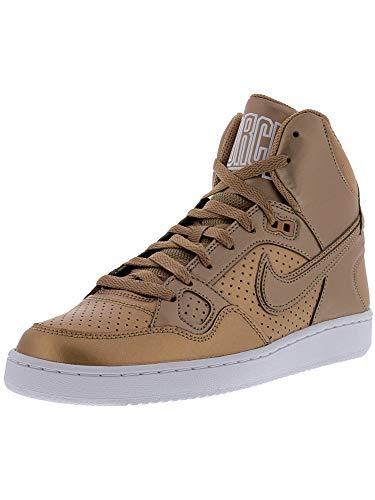 Nike Womens Son of Force Mid Trainers 616303 Sneakers Shoes (UK 5.5 US 8 EU 39, Metallic Bronze 991)