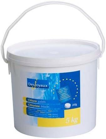 Desjoyaux Pools Chlorine Slow Dissolving Tablets 5KG - Swimming Pool Slow Release Chlorine Tablets