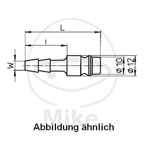 Raccord acier LW 13 mm