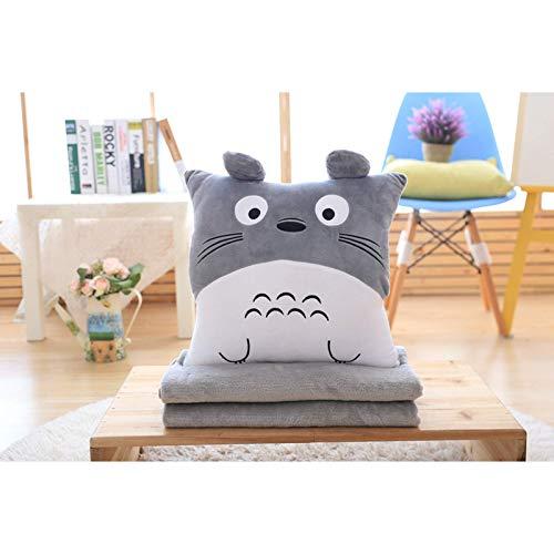 Cartoon My Neighbor Totoro Kissen, Plüschpuppe, Decke drei in einem