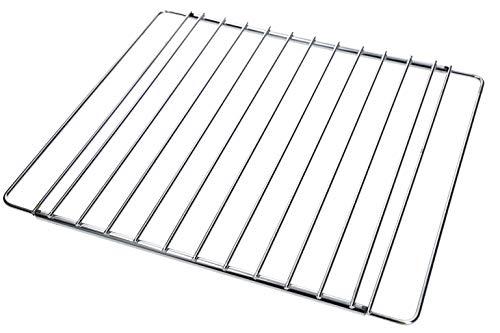 DL-pro Grillrost Backgitter 35-56 cm ausziehbar passend für Wpro 480181700954 universell einsetzbar für Backofen Herd