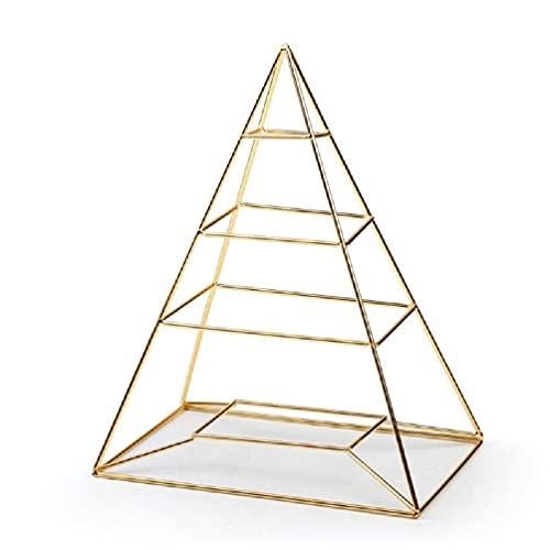Pyramide Quadratisches Polygon Hängender Schmuck Organizer Halskette Ohrringe Rack Schmuck Tischhalter Display Ständer