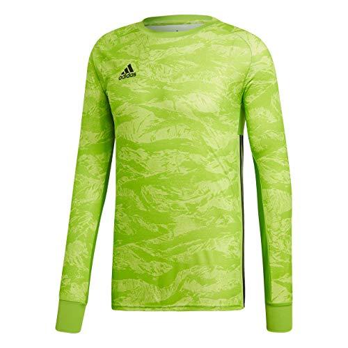 adidas Kinder AdiPro 18 Goalkeeper Jersey Longsleeve Torwarttrikot, semi solar Green, 140