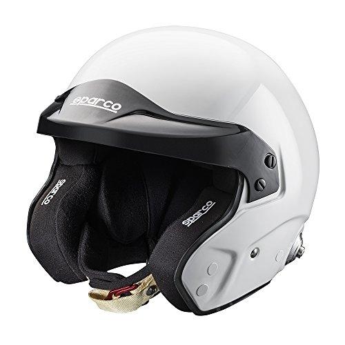 Sparco 0033532M Helm Pro Rj-3 Fia Tg. M, Schwarz, M