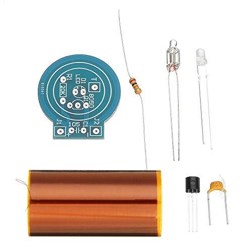 Khxypm 86 Silicon Radio Mini Tesla Modul Kit DIY Trockenbatteriebetriebenes Tesla Spulenkit
