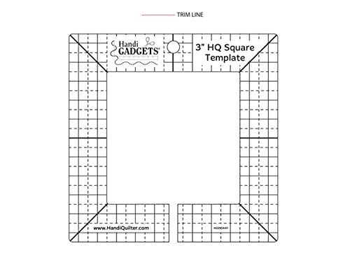 Best Review Of HQ 3-inch Square Template