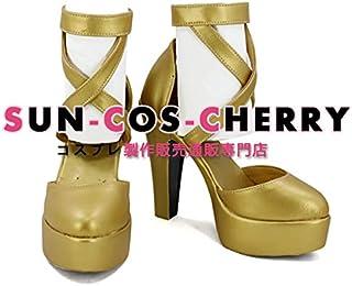 【サイズ選択可】コスプレ靴 ブーツ K-2485 ファイアーエムブレム 覚醒 サーリャ Sallya 女性23.5CM