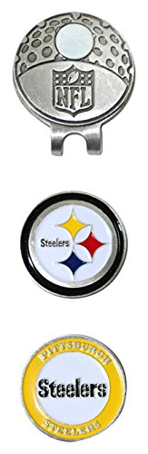 %44 OFF! Team Golf NFL Pittsburgh Steelers Cap Clip With 2 Markers