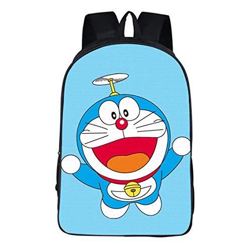 Mochila Doraemon,Mochilas Escolares para Niños,Linda Mochila De Anime,Mochila Escolar,Mochila De Personaje De Dibujos Animados,Niños Y Niñas  Grados 1-6,7-12 Años,Ligereza,C7,42 * 29 * 16CM