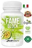 Herbfit FAME BLOCK I 120 Pastillas Para Adelgazar Rapido Potente I Capsulas...