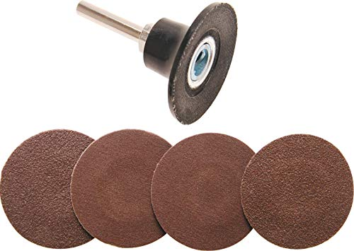 BGS 8590 | Jeu de disques/plateaux abrasifs | Ø 50 mm