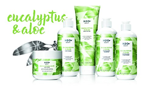 Body Butter, Moisturizing Lotion for Dry Skin, Eucalyptus & Aloe with Coconut Butter, 8 Oz | H2O+ Body Care | Luxury Beauty 3