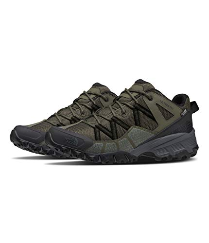 The North Face Men's Ultra 111 WP, New Taupe Green/TNF Black, 8