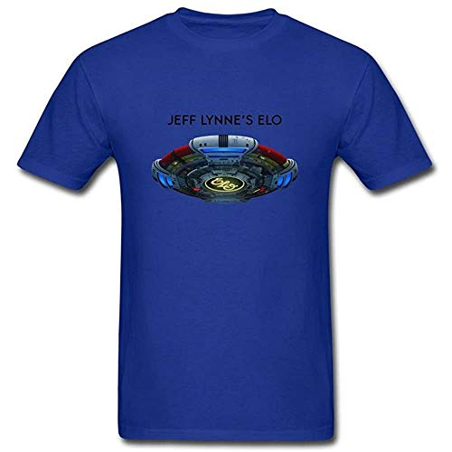 Fscyhx Men's T-Shirts Jeff Lynnes Elo Alone In The Universe