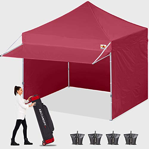ABCCANOPY Canopy Tent 10 x 10 Pop-up Instant Shelters Commercial Portable Market Canopies