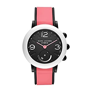 Marc Jacobs Women's Riley Hybrid Smartwatch on Sport Silicone Strap