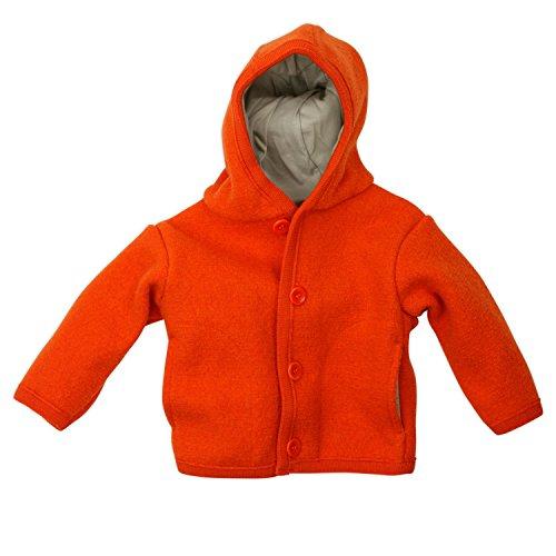 Disana 32306XX - Gekookte Wollen Jas Oranje 62-68 ORANJE