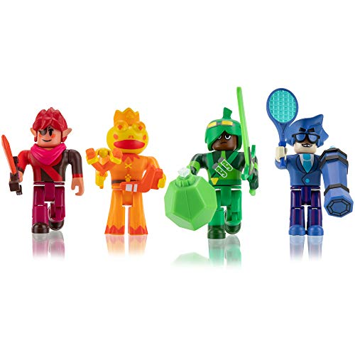 Roblox Action Collection - Super Doomspire Four Figure Pack [Includes Exclusive Virtual Item]