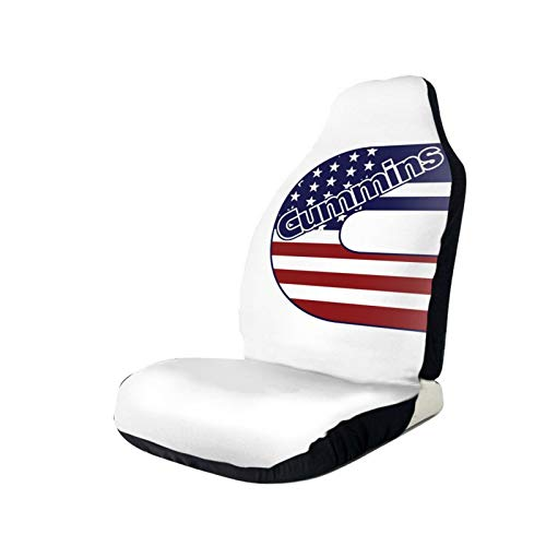 TTGHGH Cummins Logo Stylish and Comfortable Car Seat Cover, Dirt-Resistant and Washable