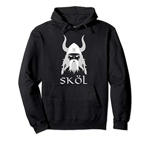 Skol Nordic Scandinavian Warrior Viking Hoodie