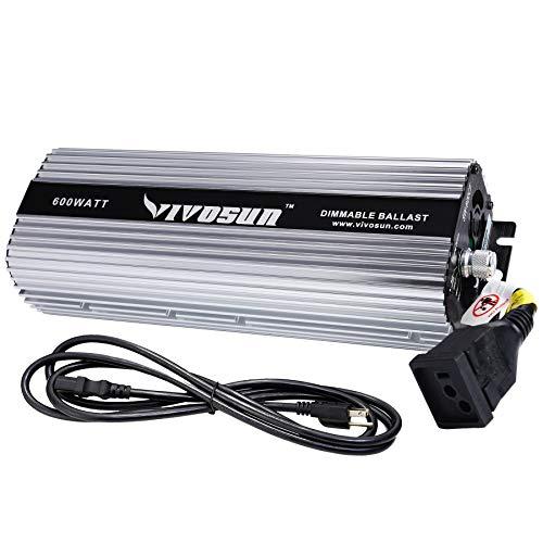 VIVOSUN Horticulture 600 watt Dimmable Digital Electronic Ballast for Hydroponic