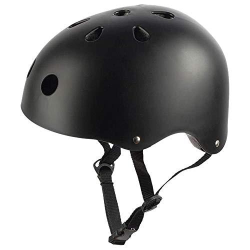 Suading Casco de Skate para Patines Patinaje en LíNea Longboard Casco de Bicicleta con Correas Ajustables
