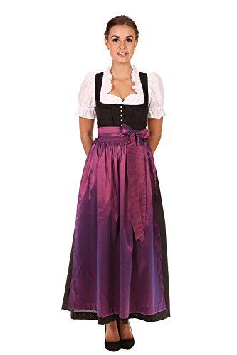 Turi Landhausmode Damen Schürze D719001 1306 rubin 93