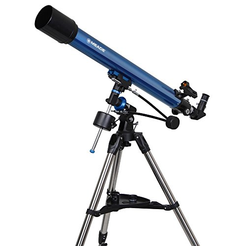 MEADE 天体望遠鏡 EQM-70 屈折式 アクロマート </br></noscript>口径70mm 焦点距離900mm ブルー 997071