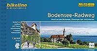 Bodensee-Radweg: Rund um den Bodensee, Ueberlinger See und Untersee. 1:50.000, 264 km, wetterfest/reissfest, GPS-Tracks Download, LiveUpdate