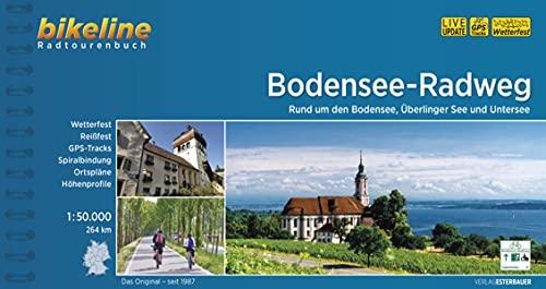 Bodensee-Radweg: Rund um den Bodensee, Überlinger See und Untersee. 1:50.000, 264 km, wetterfest/reißfest, GPS-Tracks Download, LiveUpdate (Bikeline Radtourenbücher)