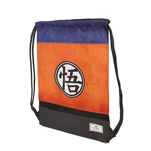 KARACTERMANIA Dragon Ball Symbol-Storm Drawstring Bag Turnbeutel, 48 cm, Mehrfarbig (Multicolour)