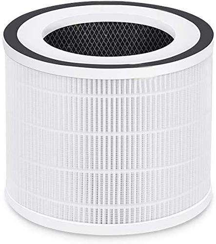 HIMOX H13 Medical Grade HEPA Filter Replacement Filter for Smart Air Purifier H06, 3-Stage Filtration System, Pre Filter, True HEPA Filter, Active Carbon Filter
