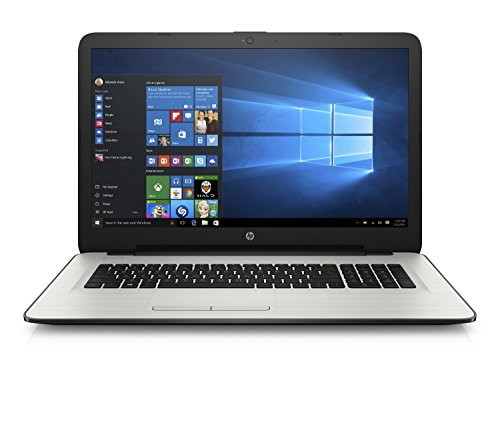 HP 17-x091nf 1.6GHz N3710 17.3' 1600 x 900Pixel Computer portatile, Argento, Layout Francese