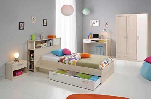 """Parisot Kinder- und Jugendzimmer 6-TLG. Charly 16"""" Akazie-Weiß"""