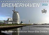 BREMERHAVEN - 2022 (Tischkalender 2022 DIN A5 quer): Eine pulsierende Seehafenstadt mit maritimen Flair (Geburtstagskalender, 14 Seiten )