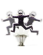 MaiQiLai Anime Jujutsu Kaisen Gojou skaka actionfigur stativ modell tallrik skrivbordsdekor söt skakande akryl stående skylt leksak fans gåvor skrivbord ornament kreativ animering omgivning